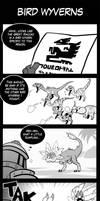 MH Comic - Bird Wyverns