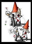 PYRAMID HEAD'S TYPICAL DAY