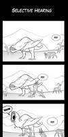 Monster Hunter Comic - Selective Hearing by macawnivore