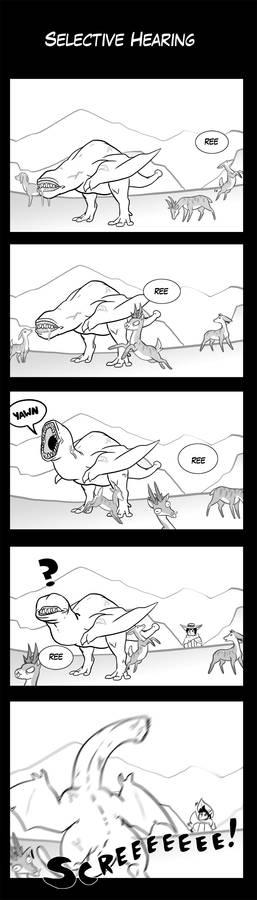 Monster Hunter Comic - Selective Hearing