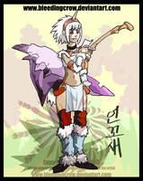 Monster Hunter Kirin Armor by macawnivore