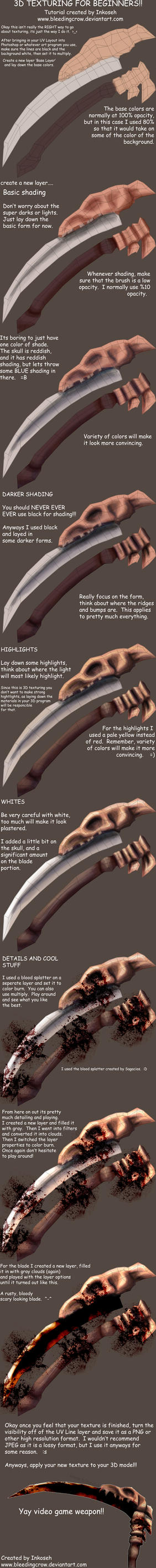 How to create a 3D Texture by macawnivore