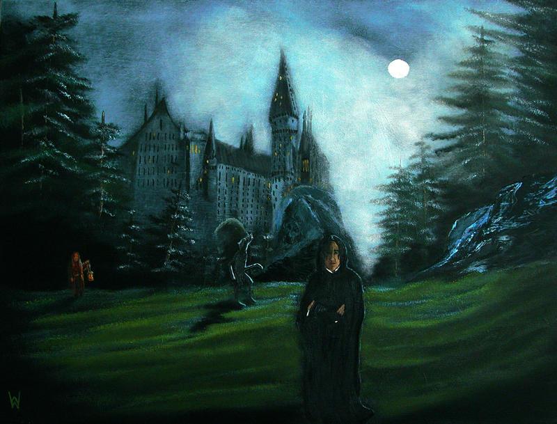 Any night behind Hogwarts