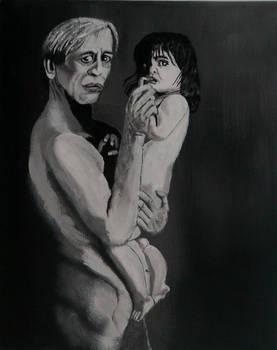 Actor Klaus Kinski and his son