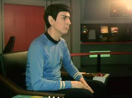 Myself as Spock