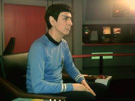 Myself as Spock by WilliamSnape