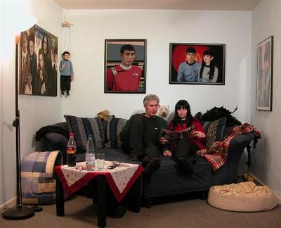 original photo of blaues sofa by williamsnape on deviantart. Black Bedroom Furniture Sets. Home Design Ideas