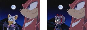 Sonic X Rouge to Perci
