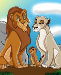 Selfish lion's Family
