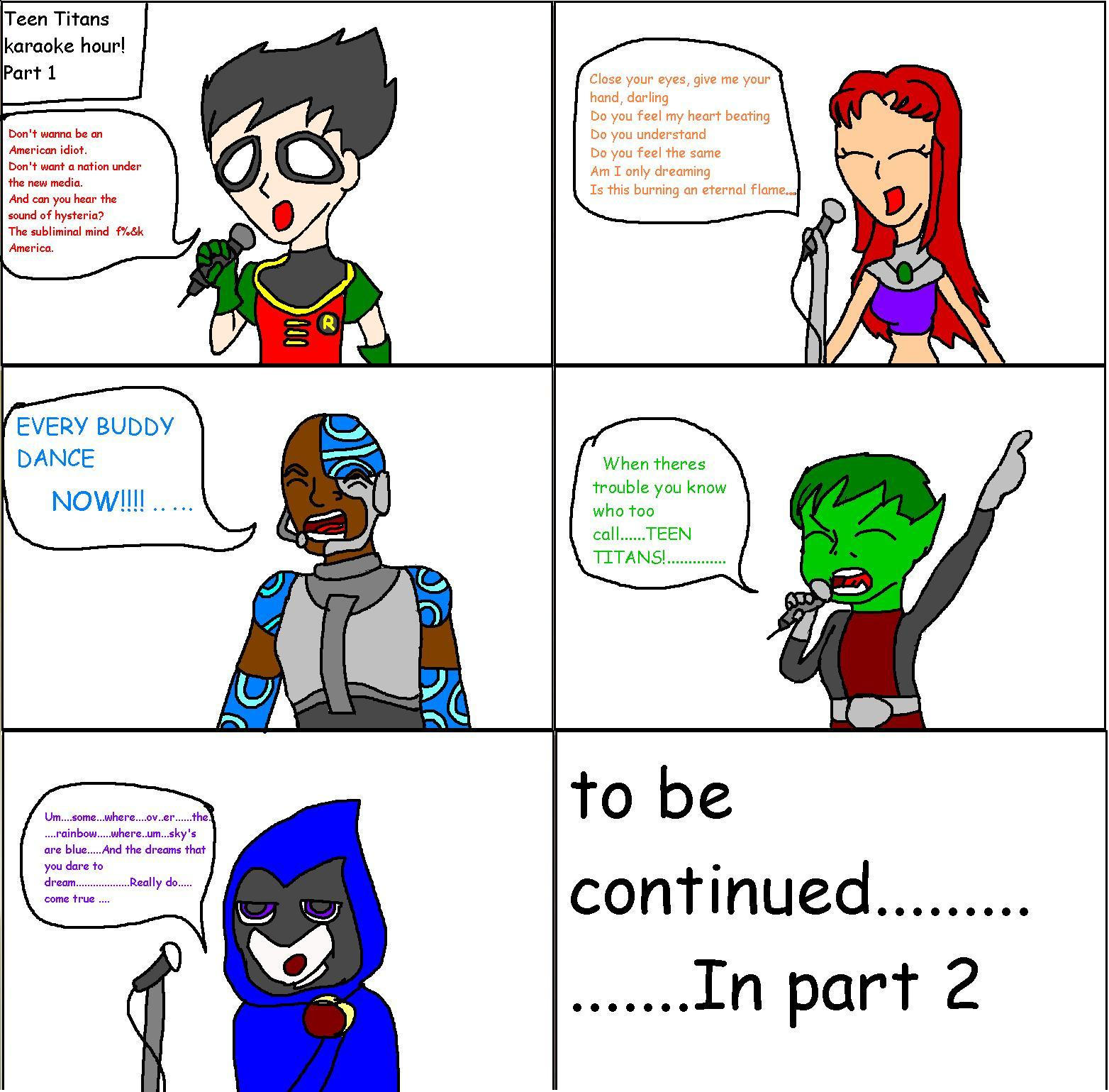 Teen Titans - More Songs, Less Music