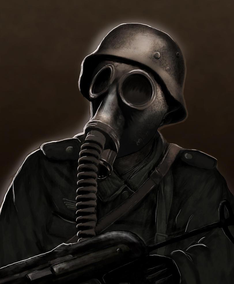Gasmask Soldier By JonnyEklund On DeviantArt
