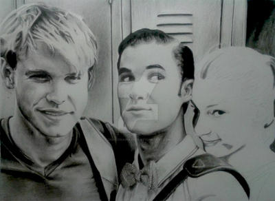 Chord, Darren, Heather process 3 by DraconaMalfoy