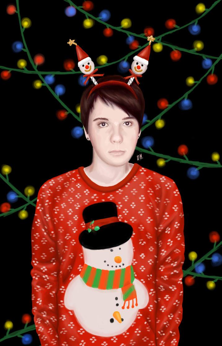 Dan Howell - 'Christmas Edition' by DraconaMalfoy