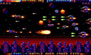 Amstrad CPC Shooter Mock Up