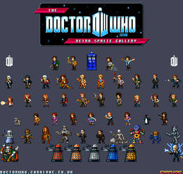 Doctor Who - Retro Sprites by Carnivius