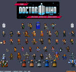 Doctor Who - Retro Sprites