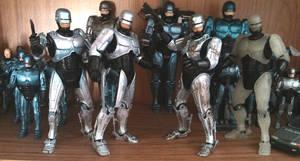 NECA RoboCops by Carnivius