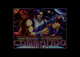 Cosmic Prison Commando - Loading Screen by Carnivius