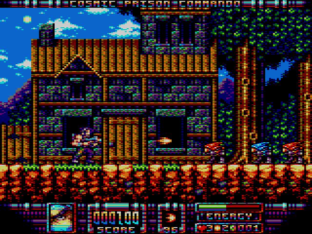 Cosmic Prison Commando - March 2015