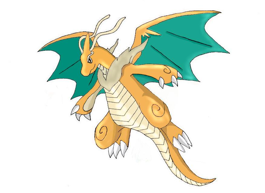 Mega Dragonite Sun by LyndorRaynorson on DeviantArt