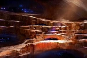 Subterranean Civilization by asong0116