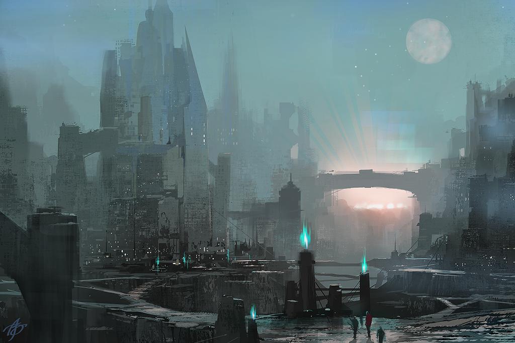 Alien Ruins by asong0116