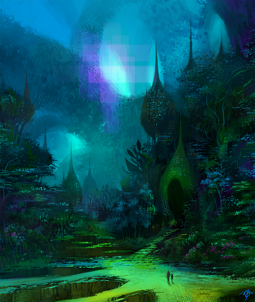 Rainforest by asong0116