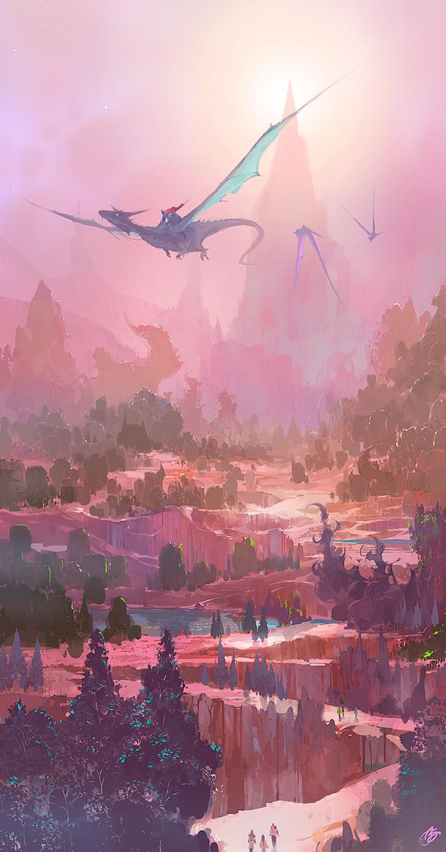 Dragons by asong0116