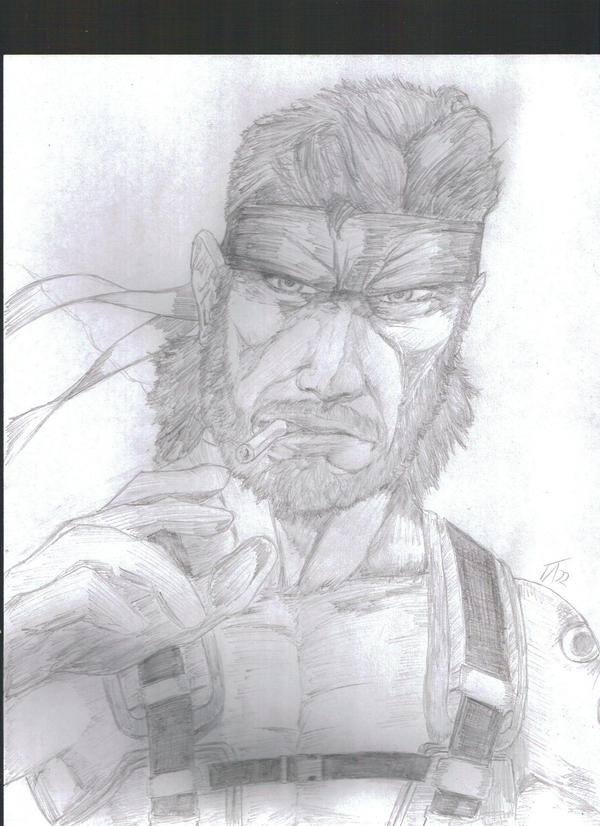 Solid Snake- MGS2 by dtor91