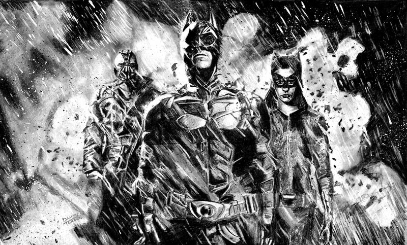 Rogue GFX Featured traditional art thread The_dark_knight_rises_by_dtor91-d584l07