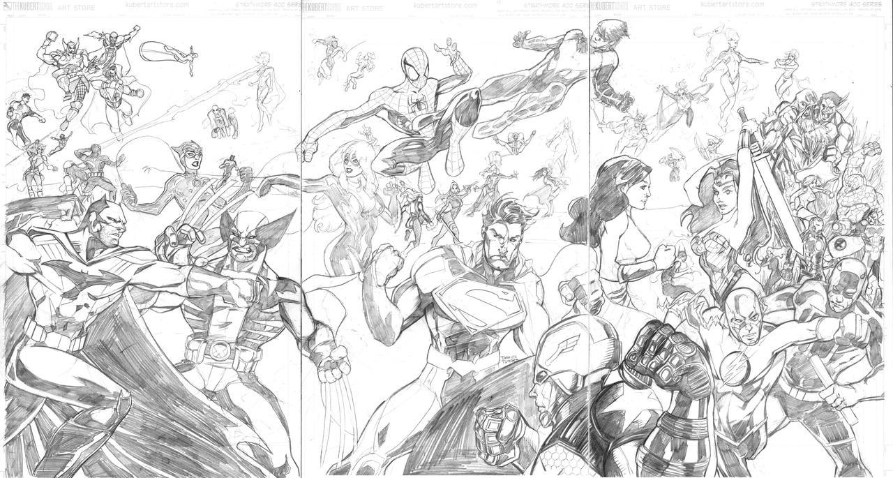 Marvel vs DC by dtor91 on DeviantArt