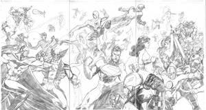 Marvel vs DC by dtor91