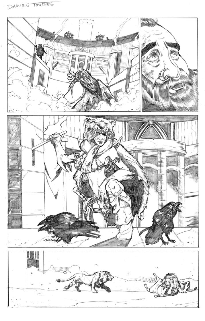 Red Sonja Sample by dtor91