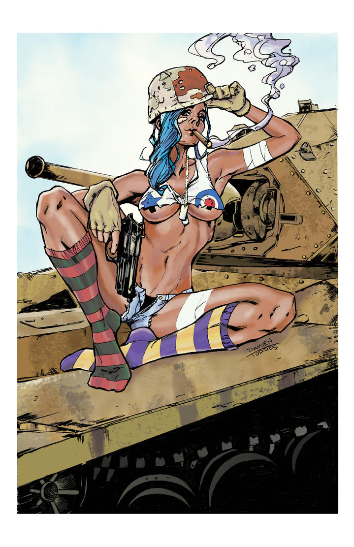 Tank Girl colors by dtor91