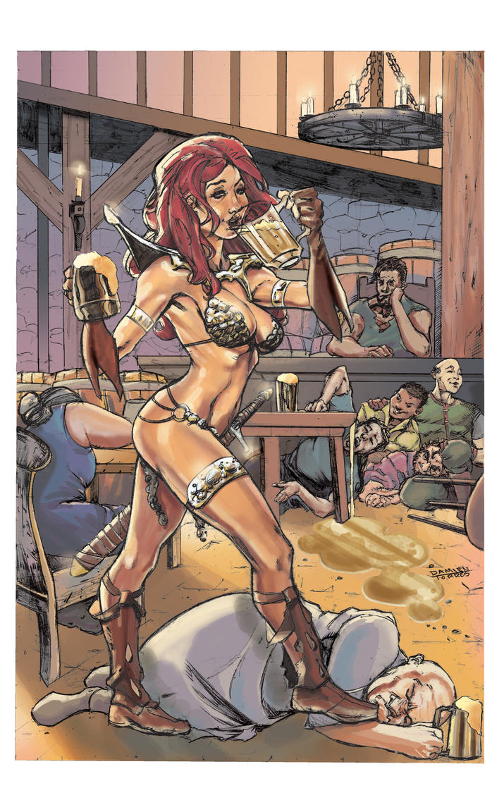 Red Sonja Cover Contest by dtor91