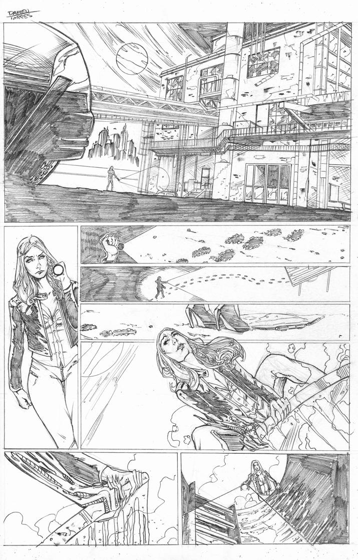 Witchblade Top Cow Talent Hunt 2015 page 4 by dtor91