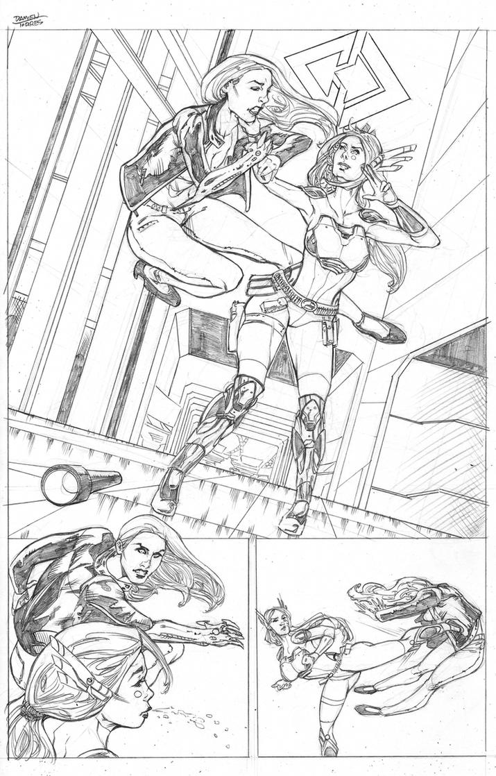 Witchblade Top Cow Talent Hunt 2015 page 6 by dtor91
