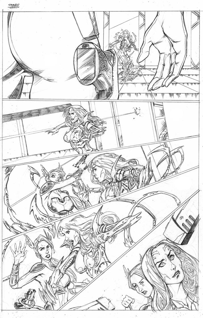 Witchblade Top Cow Talent Hunt 2015 page 7 by dtor91