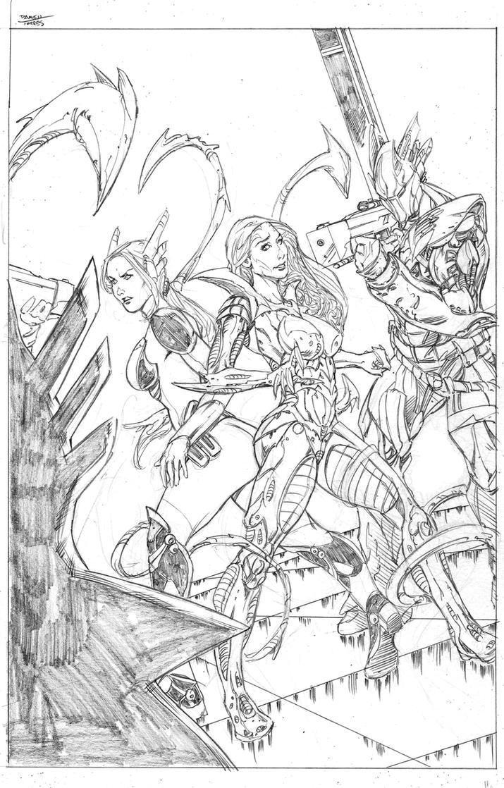 Witchblade Top Cow Talent Hunt 2015 page 8 by dtor91