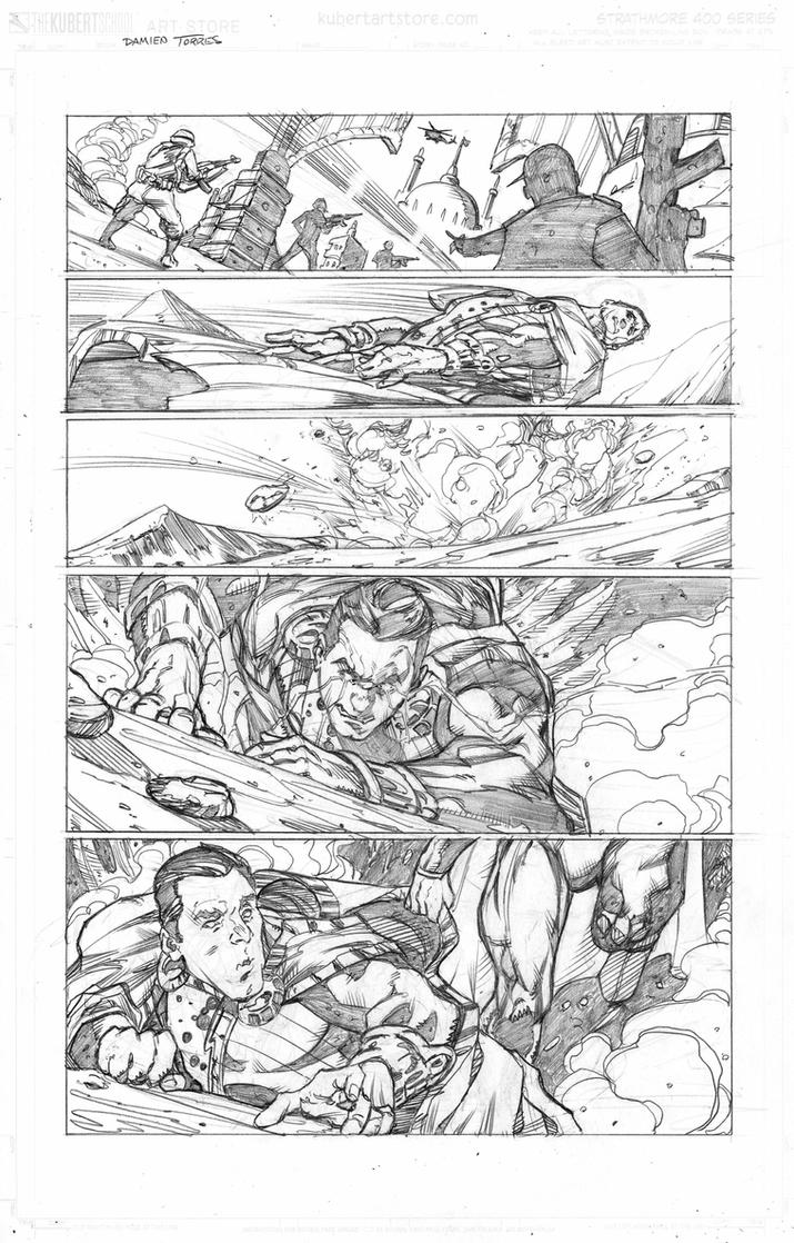 Justice League sample page 1 by dtor91