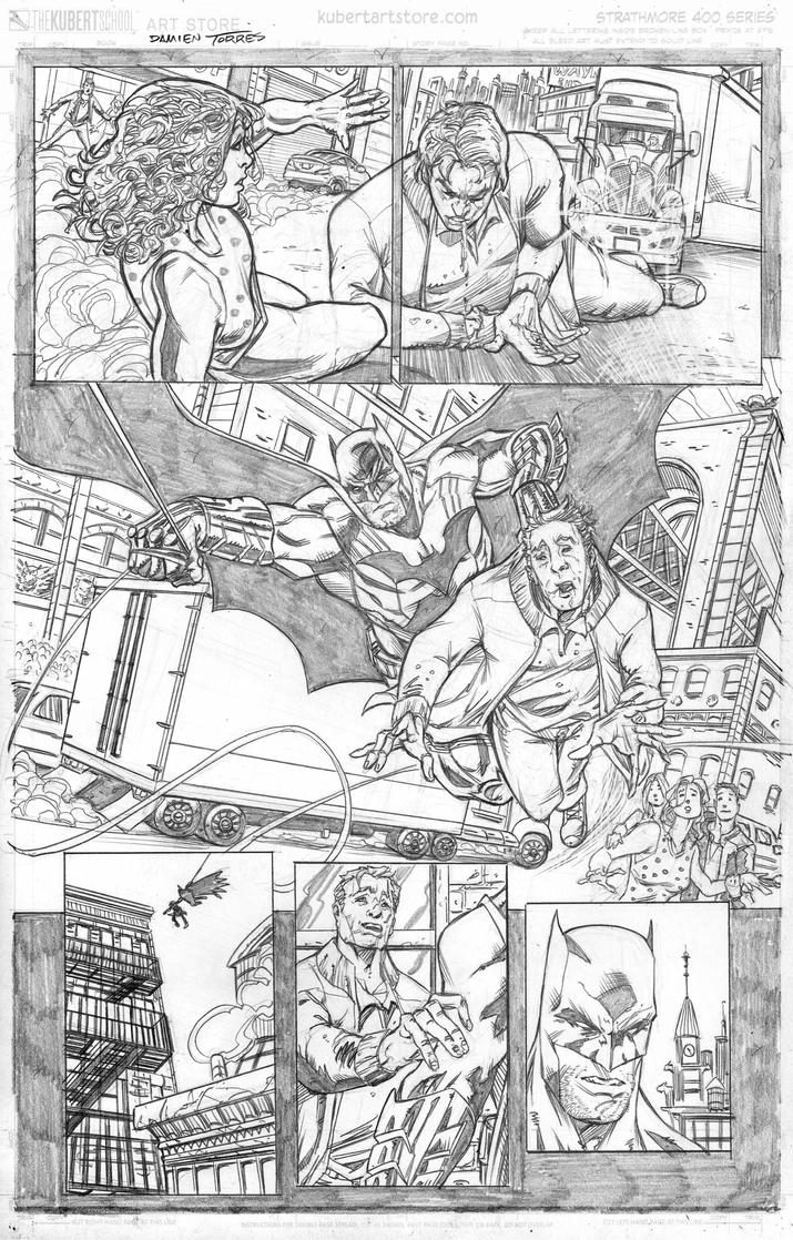 Batman sample page 3 by dtor91