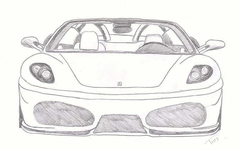 how to draw f430. Cars Review. Best American Auto & Cars Review