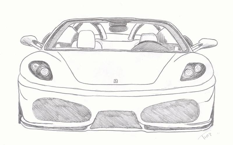 Ferrari F430 By Tioz On Deviantart