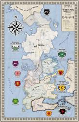 Alternative map of Westeros (Game of Thrones) by ZalringDA