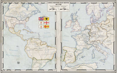 Empires of the both worlds - 1780 (Alt. History) by ZalringDA