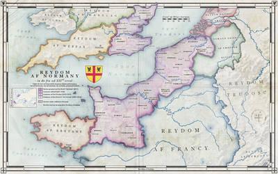 The Kingdom of Normandy, XIIth century (Alt Hist) by ZalringDA