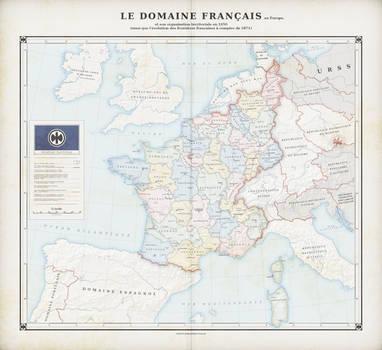 The French Domain 1950 (Alt. history) by ZalringDA