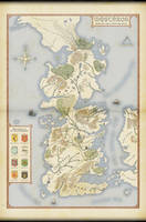 Map of Westeros (Game of Thrones)