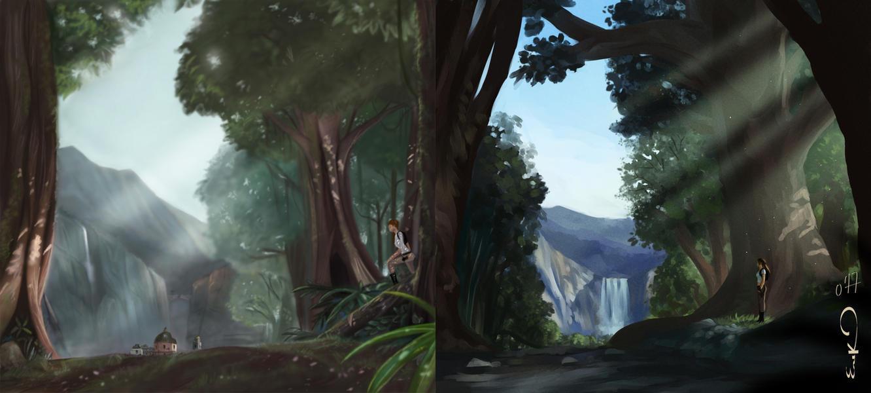 Forest comparisson by MrRabLo