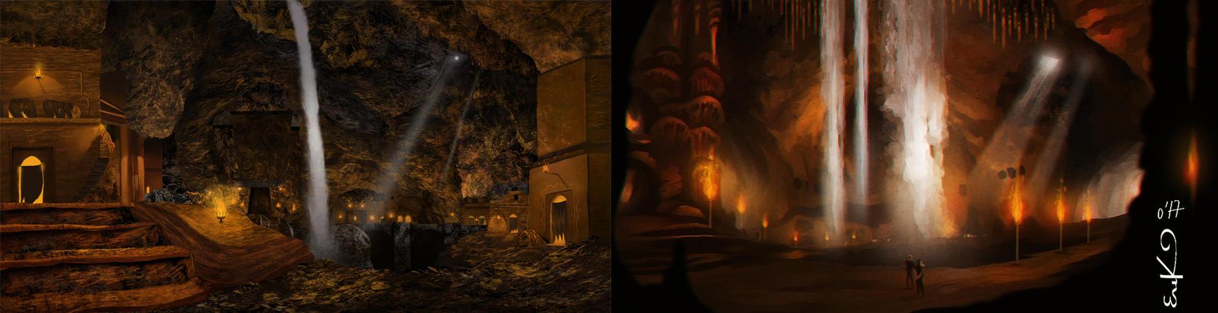 Cavern comparisson by MrRabLo